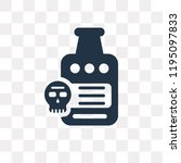 rum vector icon isolated on... | Shutterstock .eps vector #1195097833