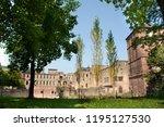 inside and decor of heidelberg...   Shutterstock . vector #1195127530