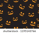 vector seamless pattern with... | Shutterstock .eps vector #1195143766
