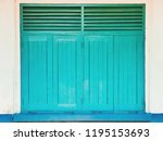 window wood background | Shutterstock . vector #1195153693