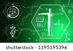 abstract background technology... | Shutterstock .eps vector #1195195396