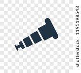 boat telescope vector icon... | Shutterstock .eps vector #1195198543