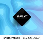 abstract colorful background... | Shutterstock .eps vector #1195210060