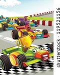 the formula race   super car  ... | Shutterstock . vector #119521156