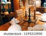 beautiful vibrant luxury... | Shutterstock . vector #1195213900