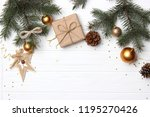 christmas or new year... | Shutterstock . vector #1195270426