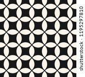 vector geometric seamless...   Shutterstock .eps vector #1195297810