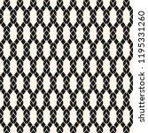 vector fishnet seamless pattern....   Shutterstock .eps vector #1195331260