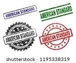 american standard seal prints... | Shutterstock .eps vector #1195338319