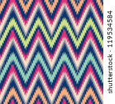 seamless modern chevron... | Shutterstock .eps vector #119534584