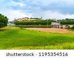 chinon  france  castle of... | Shutterstock . vector #1195354516