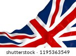 waving flag of the great... | Shutterstock . vector #1195363549