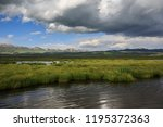 flower lake in aba  sichuan... | Shutterstock . vector #1195372363