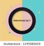 vector abstract background... | Shutterstock .eps vector #1195385653