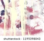 watercolor painting on paper.... | Shutterstock . vector #1195398043