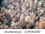 aeriel shot of new york city...