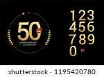 set and bundle anniversary... | Shutterstock .eps vector #1195420780