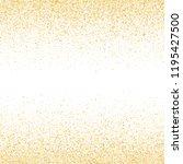 gold sparkles glitter dust... | Shutterstock .eps vector #1195427500