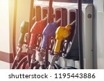Colorful Petrol Pump Filling...