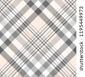 Plaid Pattern In Pink  Gray And ...