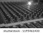 mixers mixing console audio...   Shutterstock . vector #1195461433