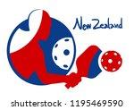 new zeland pickleball symbol   Shutterstock .eps vector #1195469590