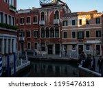 venice  italy   september 28 ...   Shutterstock . vector #1195476313