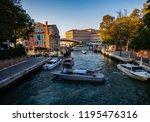venice  italy   september 28 ...   Shutterstock . vector #1195476316
