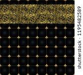 abstract golden grid seamless... | Shutterstock .eps vector #1195482589