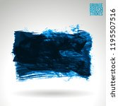 blue brush stroke and texture.... | Shutterstock .eps vector #1195507516