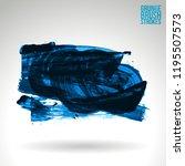 blue brush stroke and texture.... | Shutterstock .eps vector #1195507573