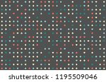 geometric background with... | Shutterstock .eps vector #1195509046