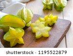 Exotic Starfruit Or Averrhoa...