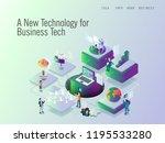 data protection for modern... | Shutterstock .eps vector #1195533280