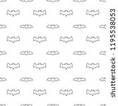 seamless pattern with thin line ... | Shutterstock . vector #1195538053