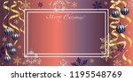 horizontal holiday illustration ... | Shutterstock .eps vector #1195548769