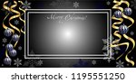 horizontal holiday illustration ... | Shutterstock .eps vector #1195551250