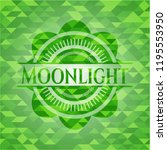 moonlight realistic green... | Shutterstock .eps vector #1195553950