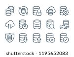 data storage and database line...