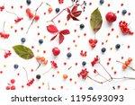 autumn background. creative... | Shutterstock . vector #1195693093