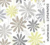 seamless pattern with shepherd... | Shutterstock .eps vector #1195696903