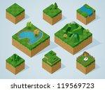 complete isometric tiles series....   Shutterstock .eps vector #119569723