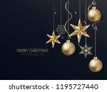 christmas and new year... | Shutterstock .eps vector #1195727440