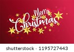 christmas and new year... | Shutterstock .eps vector #1195727443