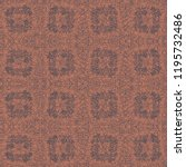 grainy pattern composed of... | Shutterstock .eps vector #1195732486