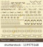 decorative  borders for design. ...   Shutterstock .eps vector #119575168
