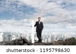 conceptual image of young...   Shutterstock . vector #1195798630