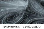 3d topographic map background... | Shutterstock . vector #1195798870