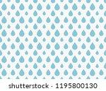 drops pattern. endless... | Shutterstock .eps vector #1195800130