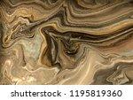 gold marbling texture design.... | Shutterstock . vector #1195819360